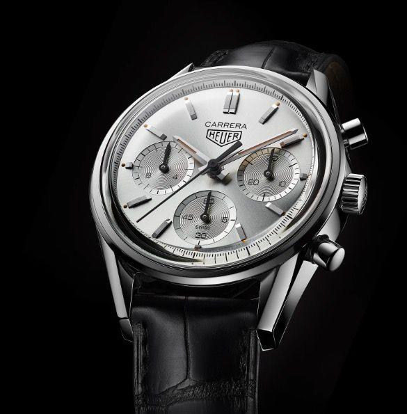 """<p>Tag Heuer Carrera 160 Years Silver Limited Edition (available from June 2020)</p><p><a class=""""link rapid-noclick-resp"""" href=""""https://www.tagheuer.com/en-gb"""" rel=""""nofollow noopener"""" target=""""_blank"""" data-ylk=""""slk:PRE-ORDER"""">PRE-ORDER</a><br></p><p>Tag Heuer marks 160 years at the pole position of watchmaking with this new Carrera Silver Limited Edition. A close reproduction of the original, much sought-after racing chronograph, the stainless steel revival keeps its forebear's monochrome silver-coloured dial, polished case and trio of pushers, alongside the brand's old 'Heuer' badge. But it's been upsized from 36mm to 39mm and carries a sparkling new 21st century movement, comprising 168 components and an 80-hour power reserve. Limited to 1,860 pieces (as in the founding year, 1860).</p><p>£TBA; <a href=""""https://www.tagheuer.com/en-gb"""" rel=""""nofollow noopener"""" target=""""_blank"""" data-ylk=""""slk:tagheuer.com"""" class=""""link rapid-noclick-resp"""">tagheuer.com</a></p>"""