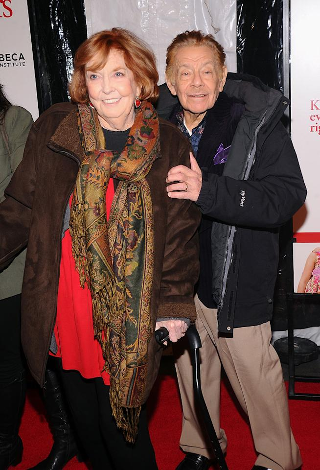"<a href=""http://movies.yahoo.com/movie/contributor/1800040573"">Anne Meara</a> and <a href=""http://movies.yahoo.com/movie/contributor/1800073974"">Jerry Stiller</a> at the New York City premiere of <a href=""http://movies.yahoo.com/movie/1810110296/info"">Little Fockers</a> on December 15, 2010."
