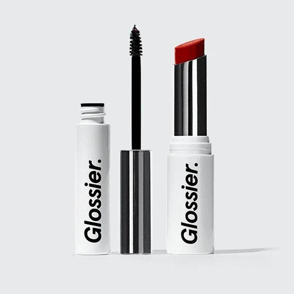 """<p><strong>Glossier</strong></p><p>glossier.com</p><p><strong>$30.00</strong></p><p><a href=""""https://go.redirectingat.com?id=74968X1596630&url=https%3A%2F%2Fwww.glossier.com%2Fproducts%2Fboy-brow-generation-g-duo&sref=https%3A%2F%2Fwww.bestproducts.com%2Flifestyle%2Fg376%2Ftop-christmas-gift-ideas%2F"""" rel=""""nofollow noopener"""" target=""""_blank"""" data-ylk=""""slk:Shop Now"""" class=""""link rapid-noclick-resp"""">Shop Now</a></p><p>We can't remember the last time we really had fun with our makeup. It's time to cut loose with Glossier's fun products. </p><p>This kit includes the brand's coveted Boy Brow Pomade and Generation G lipstick, and you can choose the best shades to play up your BFF's natural beauty! </p>"""
