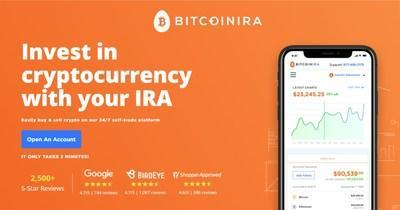 Invest in cryptocurrency with your IRA or 401k