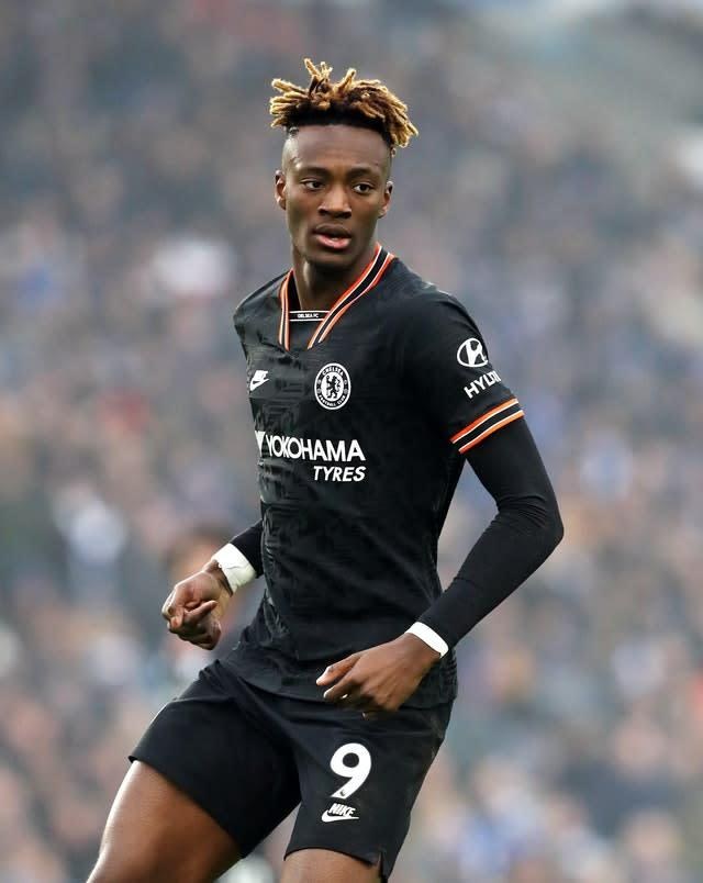 Tammy Abraham, pictured, will face extra competition at Chelsea next term with Timo Werner arriving (Gareth Fuller/PA)