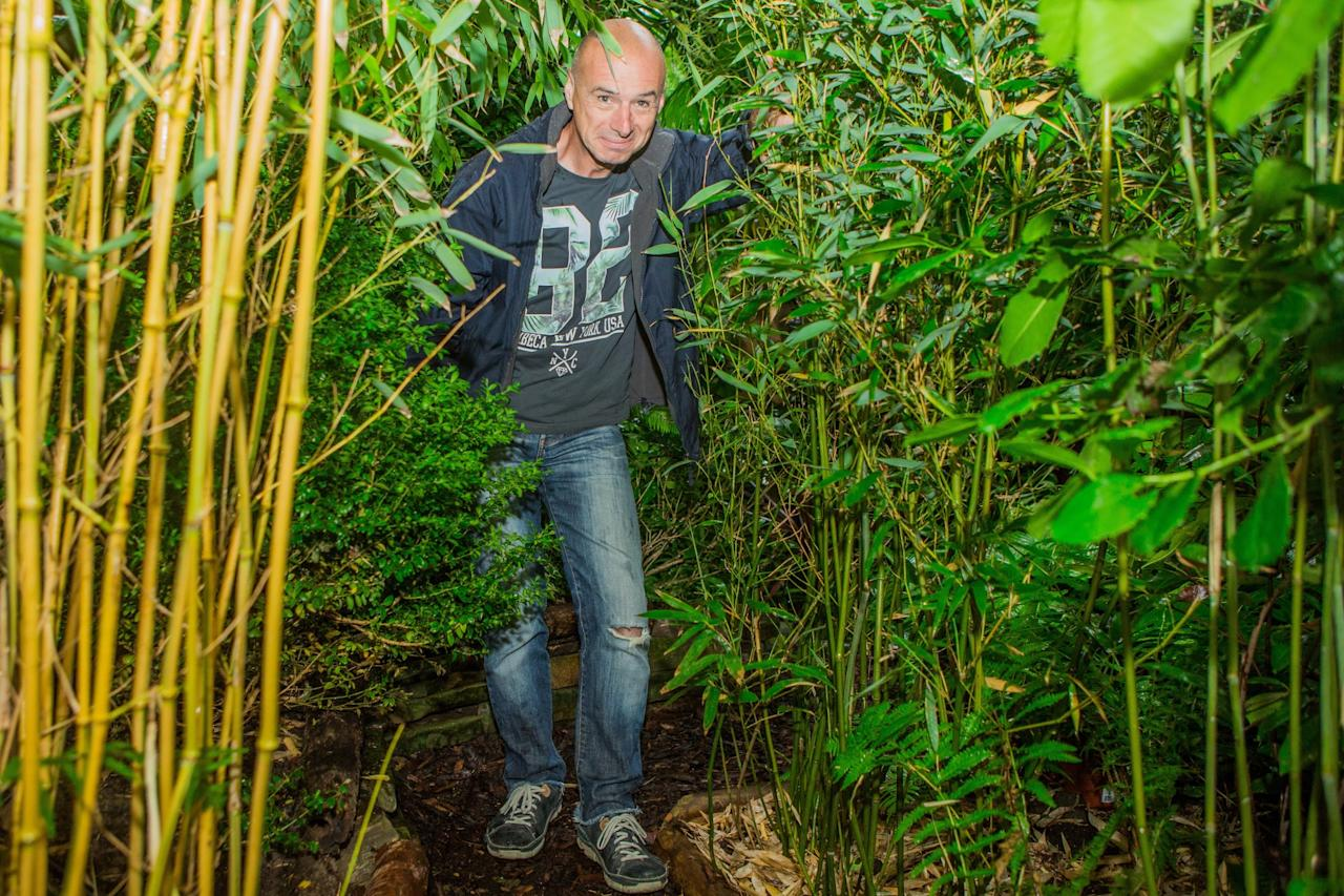 <p>Nick has spent thousands on his tropical paradise (SWNS) </p>