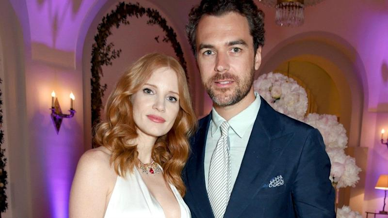 Jessica Chastain Welcomes First Baby With Husband Gian Luca Passi de Preposulo