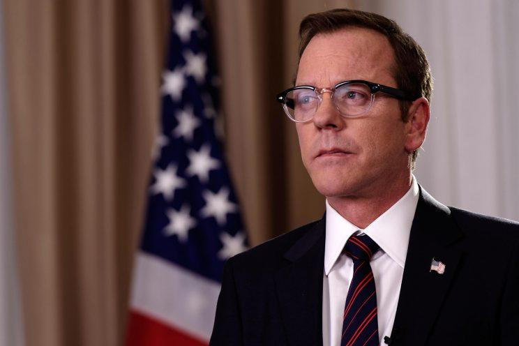 'Designated Survivor' star Kiefer Sutherland