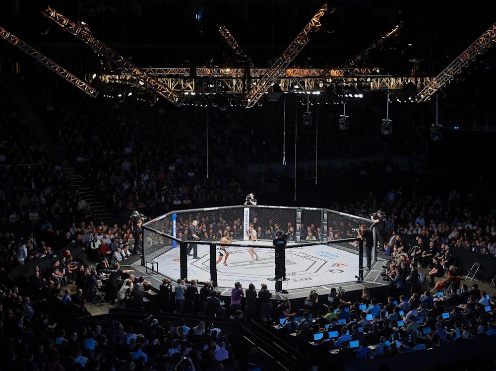 The UFC is set to return to London's O2 Arena: Getty