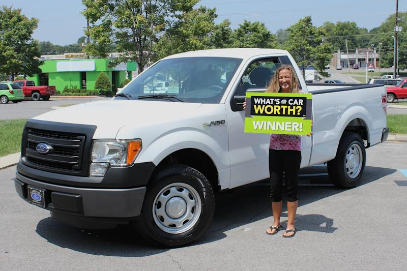 Whats My Truck Worth >> Becky Farley Wins The What S My Car Worth Truck Giveaway