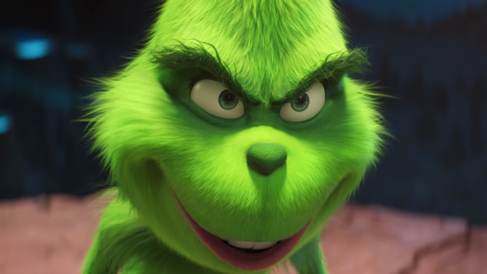 Benedict Cumberbatch is The Grinch (Universal Pictures)
