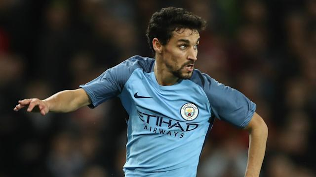 <p>Jesus Navas endured a torrid time during his spell at Manchester City, frustrating fans and manager alike. All that said, he was part of the 2013-14 winning squad. </p>