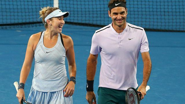 Can Federer and Bencic go all the way? Image: Getty