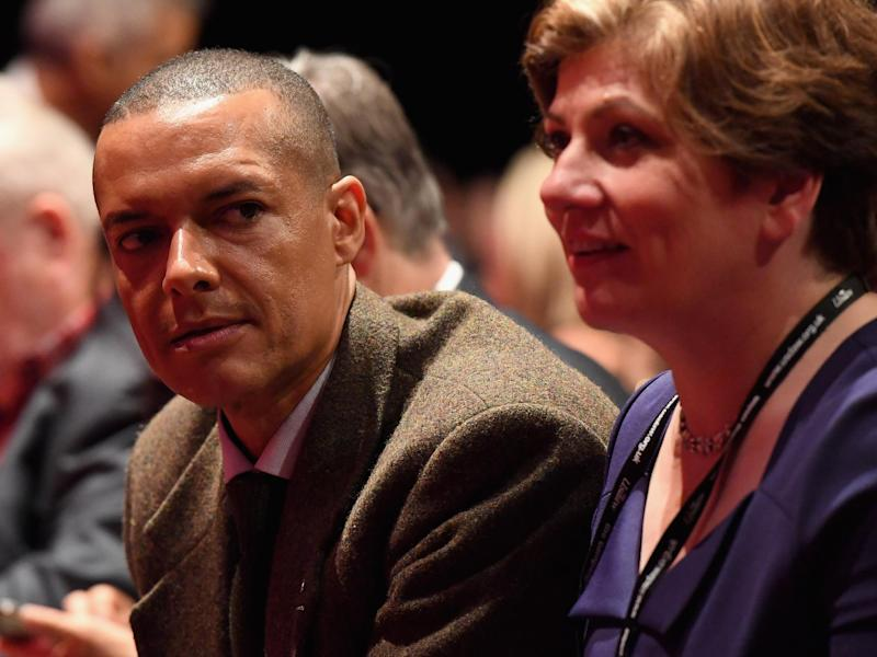 Mr Lewis, pictured with Emily Thornberry, said Labour MPs should use the leadership contest to listen to one another: Getty Images