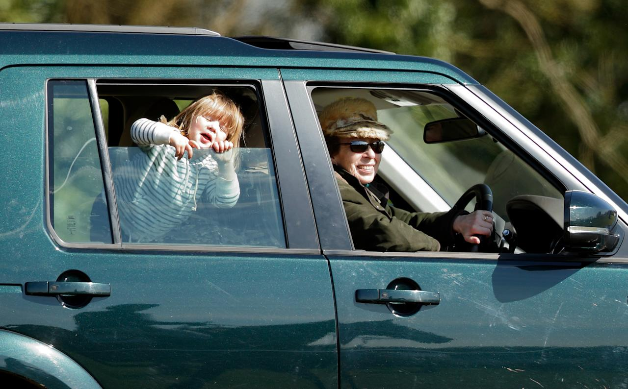 <p>Mia is the rare person who gets to be driven around by a royal, not the other way around!</p>