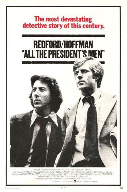 """<p>Is there anything the ever-dreamy Robert Redford can't do? Doesn't seem like it. This film follows two <em>Washington Post</em> reporters, Bob Woodward and Carl Bernstein (Robert Redford and Dustin Hoffman, respectively) as they investigate the great Watergate scandal. Political dramas can sometimes be a snooze, but this one will keep you on your toes.</p><p><a class=""""link rapid-noclick-resp"""" href=""""https://www.amazon.com/All-Presidents-Men-Dustin-Hoffman/dp/B000HIYR2W?tag=syn-yahoo-20&ascsubtag=%5Bartid%7C2140.g.27486022%5Bsrc%7Cyahoo-us"""" rel=""""nofollow noopener"""" target=""""_blank"""" data-ylk=""""slk:Watch Here"""">Watch Here</a></p>"""
