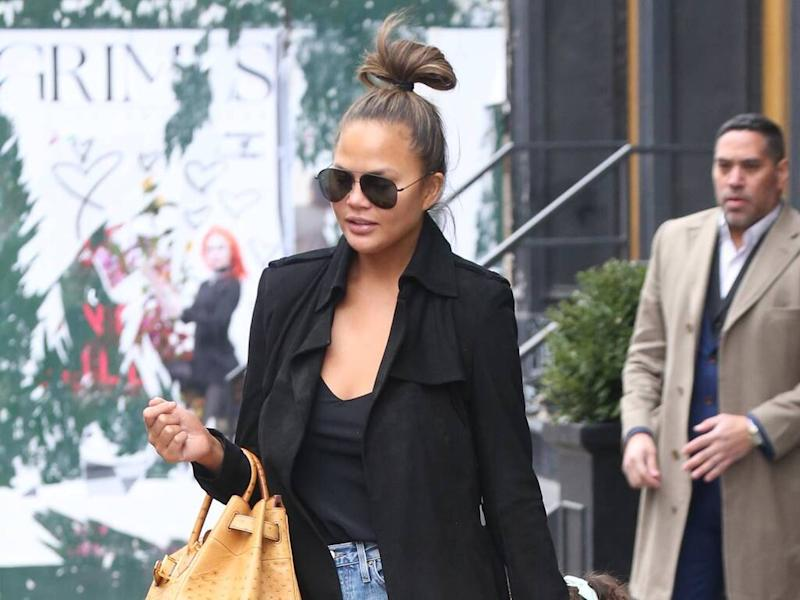Chrissy Teigen considering second breast reduction operation