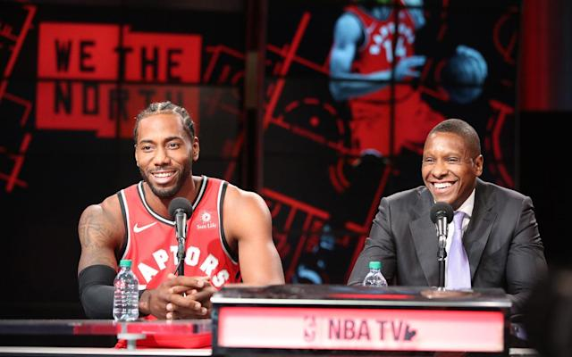 Toronto Raptors president Masai Ujiri isn't holding any grudges toward Kawhi Leonard, after he elected to join the Los Angeles Clippers. (Steve Russell/Toronto Star via Getty Images)