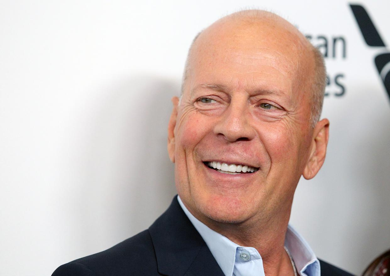 "NEW YORK, NEW YORK - OCTOBER 11: Actor Bruce Willis attends the ""Motherless Brooklyn"" premiere during the 57th New York Film Festival on October 11, 2019 in New York City. (Photo by Jim Spellman/WireImage)"