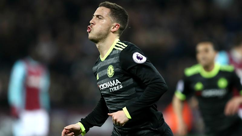 Hazard rumours designed to unsettle Chelsea star, claims Conte