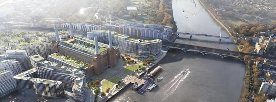 Battersea Power Station in London, which will be home to Apple's new UK campus from 2021. Photo: Battersea Power Station Development Company