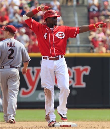 Phillips' 5 RBIs help Reds rally past D-Backs 7-6