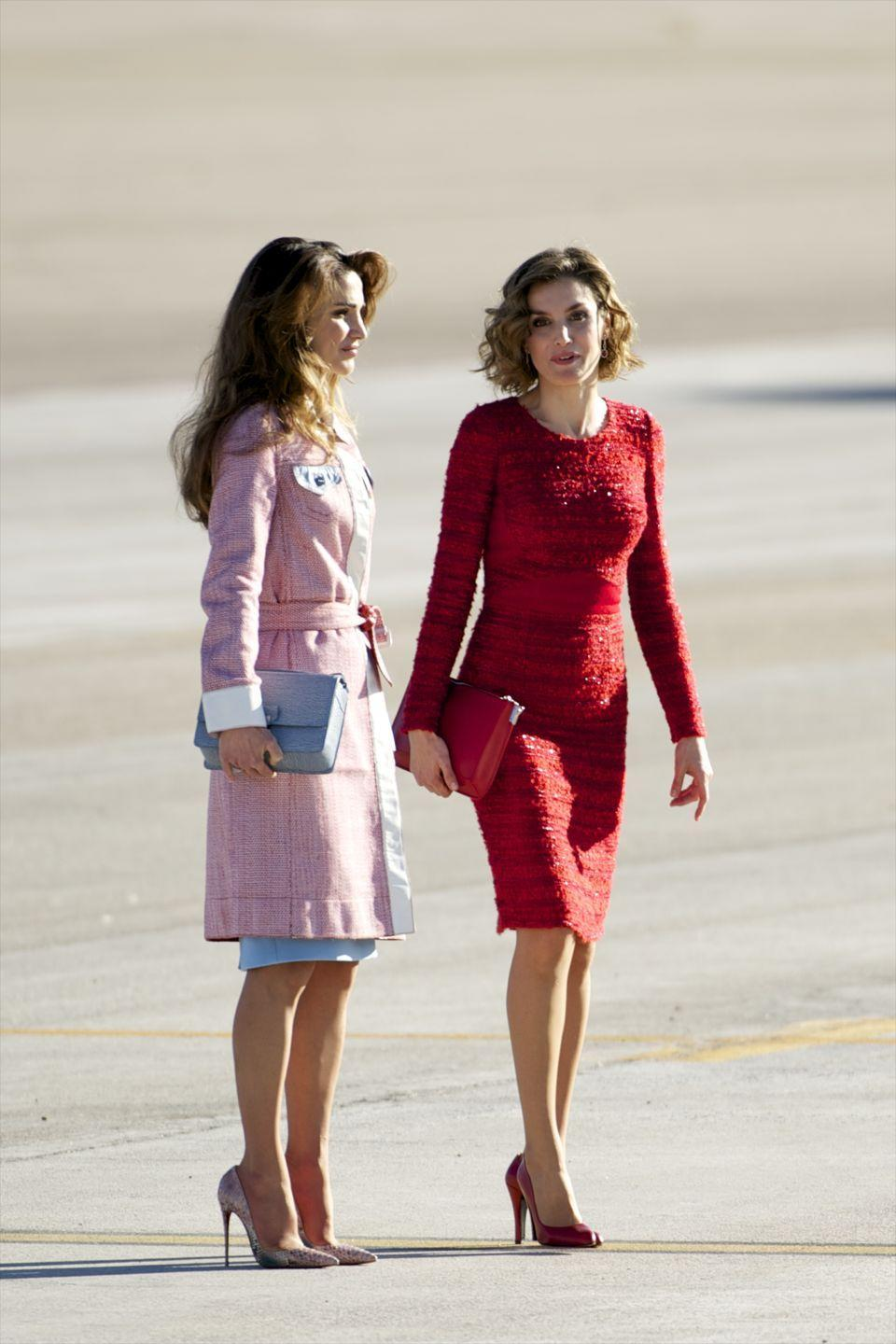 <p>Her Majesty The Queen of the Hashemite Kingdom of Jordan or Queen Rania, as she's often called informally, is the Queen consort of Jordan. Kuwati-born to Palestinian parents, she studied at the American University in Cairo. </p>