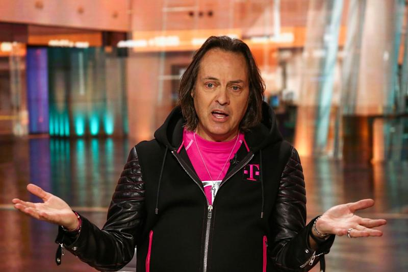 T-Mobile CEO Checks Into Trump Hotel on Fence-Mending D.C. Mission