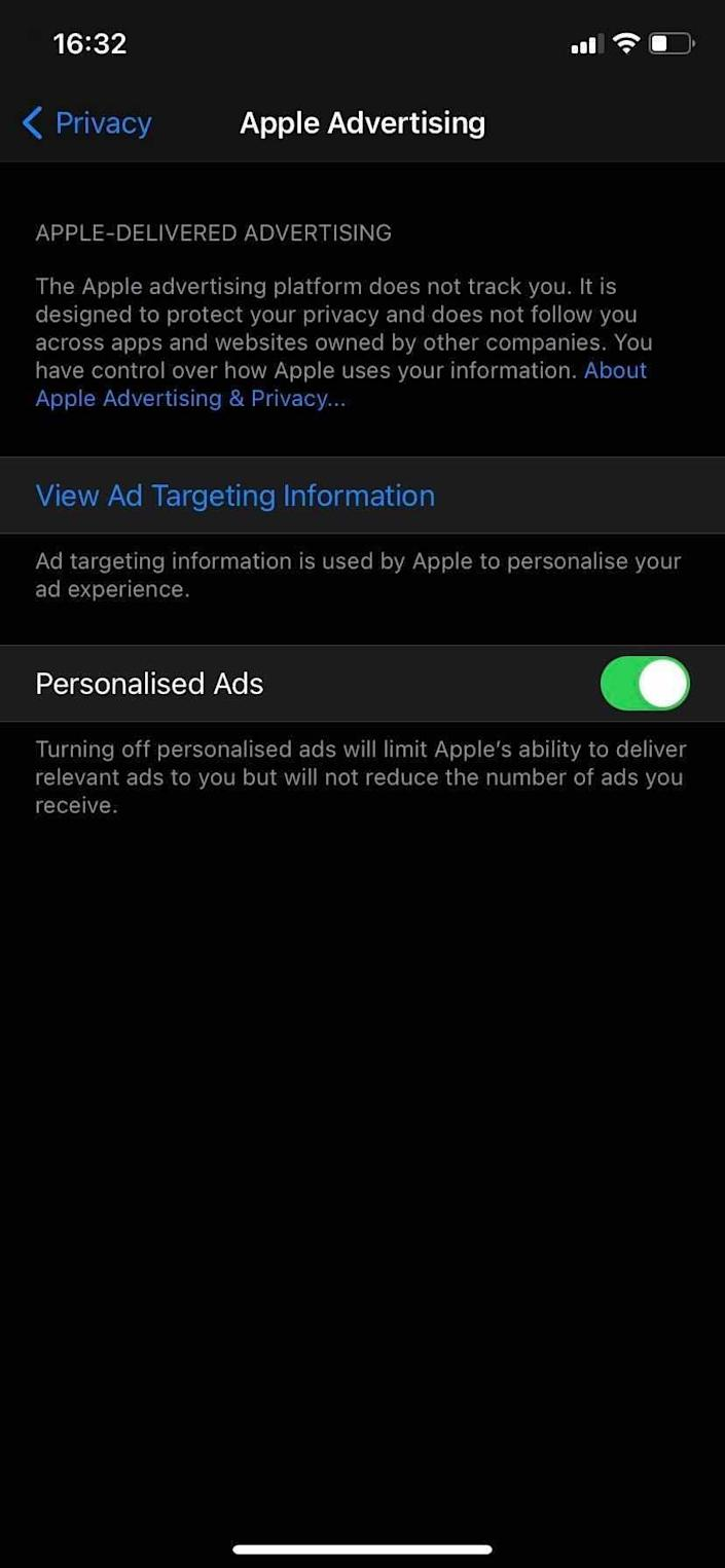 apple app privacy