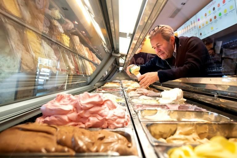 Ice cream consumption among Austrians is higher than in neighbouring Italy