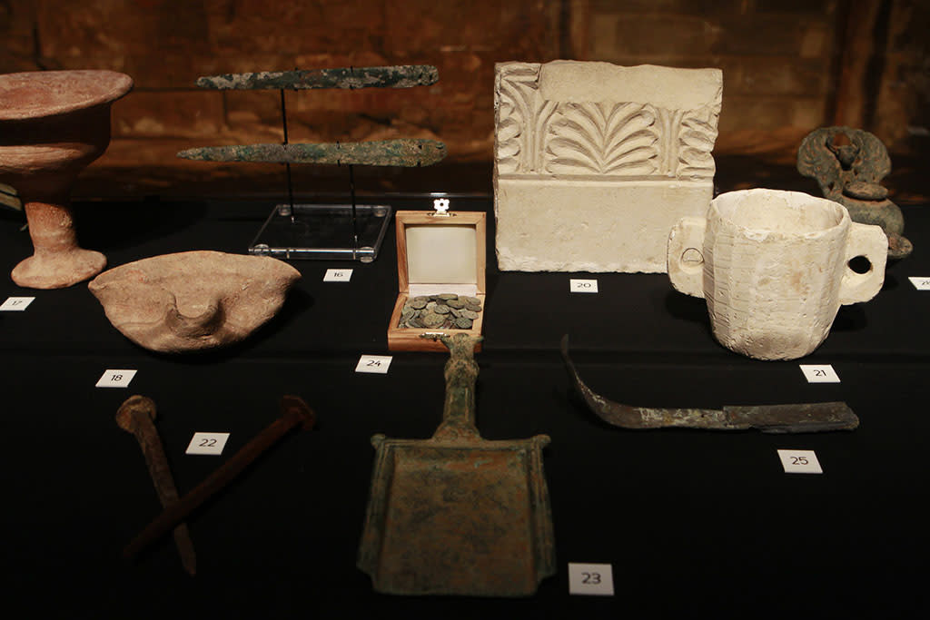 """The Bible Experience"" opening night gala, a rare exhibit of biblical artifacts, in New York City on Tuesday, March 19 in New York."