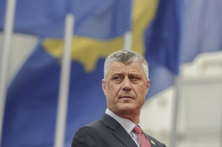 Kosovo President Hashim Thaci was the former political leader of the ethnic Albanian Kosovo Liberation Army