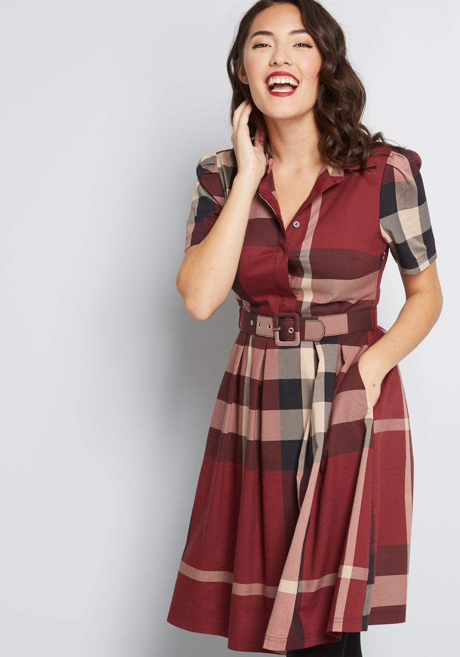 Set About Your Work Sleeve Dress. (Photo: Modcloth)