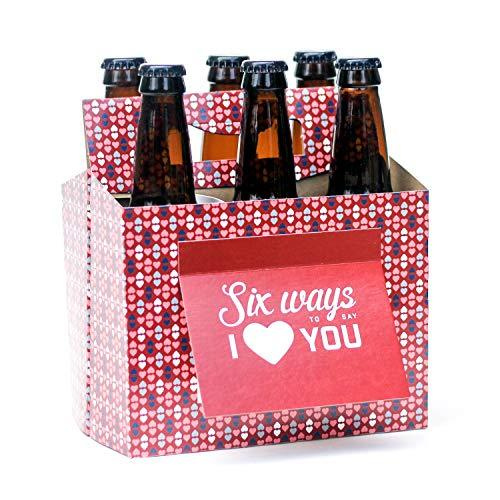 "<p><strong>Beer Greetings</strong></p><p>amazon.com</p><p><strong>$15.95</strong></p><p><a href=""https://www.amazon.com/dp/B018COT3VW?tag=syn-yahoo-20&ascsubtag=%5Bartid%7C10055.g.30794016%5Bsrc%7Cyahoo-us"" target=""_blank"">Shop Now</a></p><p>Stick their favorite beer in this festive cardboard container and write out six ways you love them in the attached greeting card. If you prefer to keep things light, spell out your favorite inside jokes or funniest moments.</p><p><strong>RELATED: </strong><a href=""https://www.goodhousekeeping.com/holidays/valentines-day-ideas/g3077/valentines-day-gifts-for-him/"" target=""_blank"">Valentine's Day Gifts That He'll Love </a></p>"