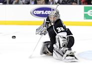 Jonathan Quick: Hidden behind his goalie's mask, the persona of Jonathan Quick remains a mystery. What's not is his ability to stop pucks from going into the net. In one of the most remarkable playoff runs in NHL history, Quick led the eighth-seeded Los Angeles Kings from obscurity to its first ever Stanley Cup title.