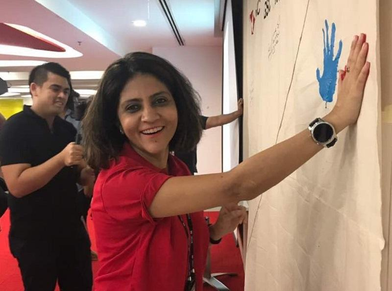 HSBC Electronic Data Processing Malaysia managing director Neeti Mahajan believes that flexible working arrangements allows employees to achieve elusive work-life balance. — Picture courtesy of HSBC Electronic Data Processing Malaysia