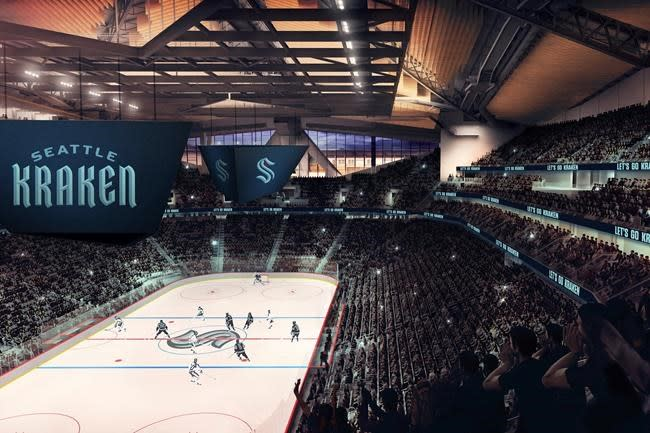 Release the Kraken: Seattle unveils name for NHL franchise