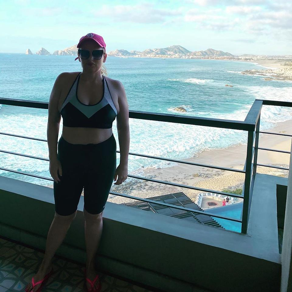 Rebel shared how becoming famous internationally was so stressful and her health took a backseat. Photo: Instagram/Rebel Wilson