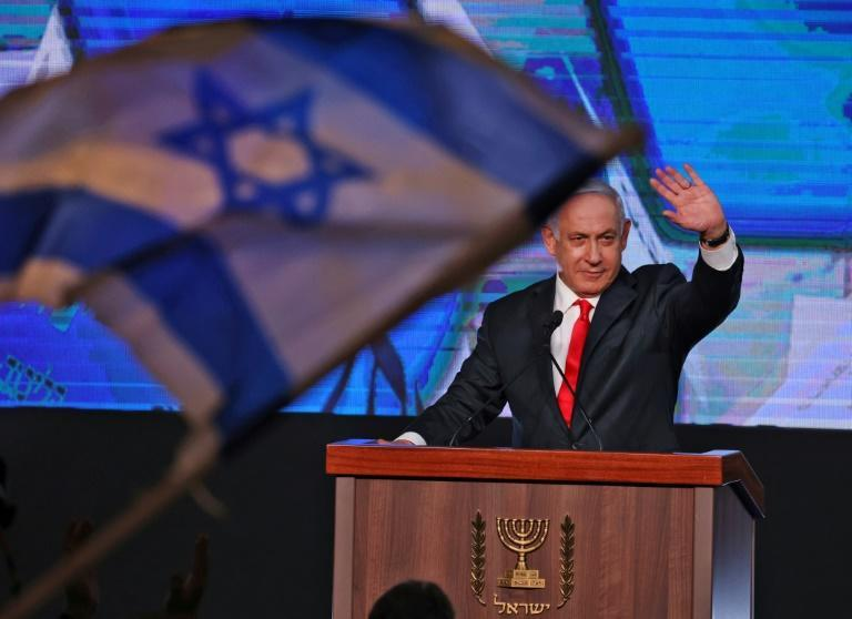 Benjamin Netanyahu got support from 52 members of parliament -- short of the absolute majority needed of 61