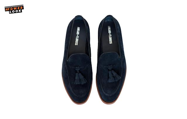 "<p><span>You'll need ""a pair of summer loafers that are comfortable and stylish. With these loafers, you can go from a pool party to an [upscale] event."" <em><a href=""https://www.instagram.com/MotiAnkari/"" rel=""nofollow noopener"" target=""_blank"" data-ylk=""slk:Moti Ankari,"" class=""link rapid-noclick-resp"">Moti Ankari,</a> The Metro Man Fashion Blog</em></span><br><span>Ankari Floruss Loafers, <a href=""https://www.ankarifloruss.com/products/friday-navy"" rel=""nofollow noopener"" target=""_blank"" data-ylk=""slk:$245"" class=""link rapid-noclick-resp"">$245</a></span><br><a href=""http://ankarifloruss.com"" rel=""nofollow noopener"" target=""_blank"" data-ylk=""slk:ankarifloruss.com"" class=""link rapid-noclick-resp""><span>ankarifloruss.com</span></a> </p>"
