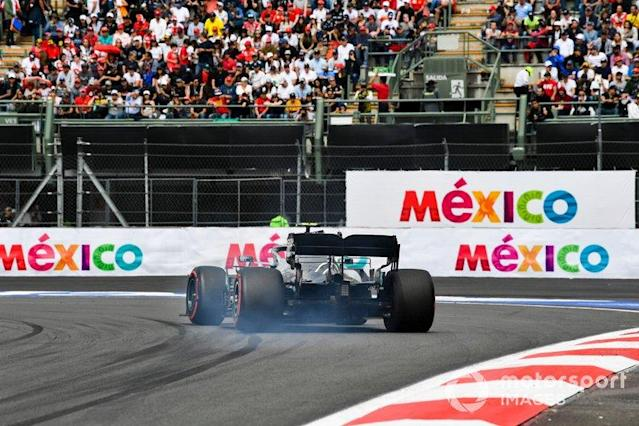 "Valtteri Bottas - Calificación GP de México <span class=""copyright"">Mark Sutton / Motorsport Images</span>"