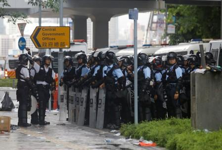 Exclusive: Hong Kong police 'trapped in the middle' by polarizing extradition bill
