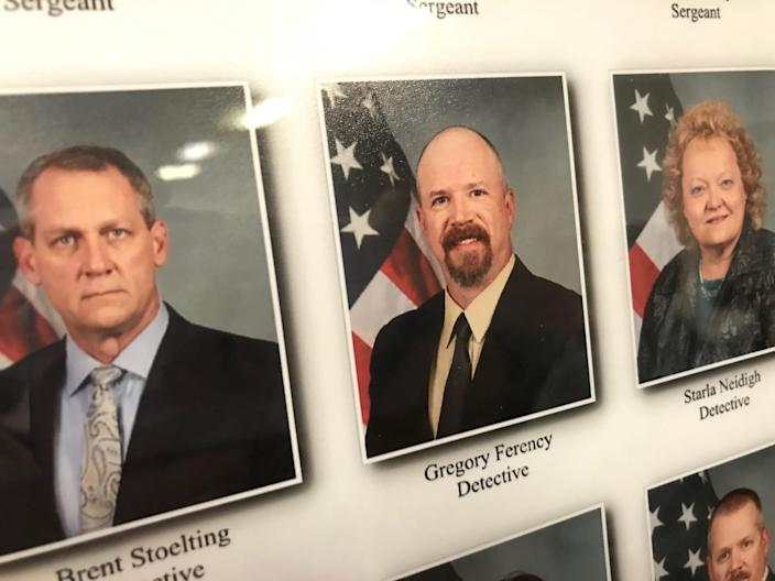 Terre Haute detective Gregory Ferency was fatally shot July 7, 2021.