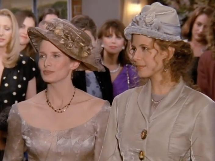 carol and susan on friends