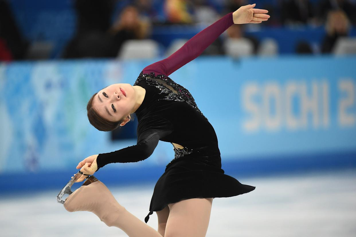 South Korea's Kim Yu-Na performs in the Women's Figure Skating Free Program on Feb. 20, 2014.