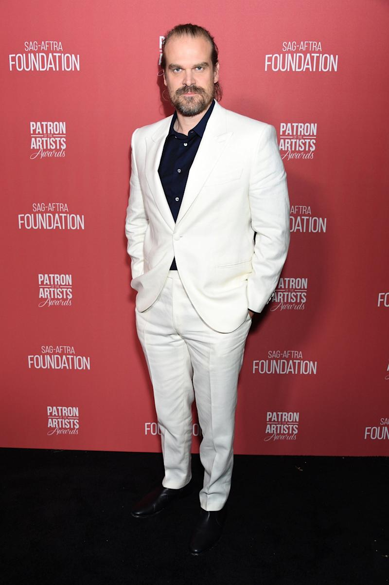 David Harbour (Getty Images for SAG-AFTRA Found)