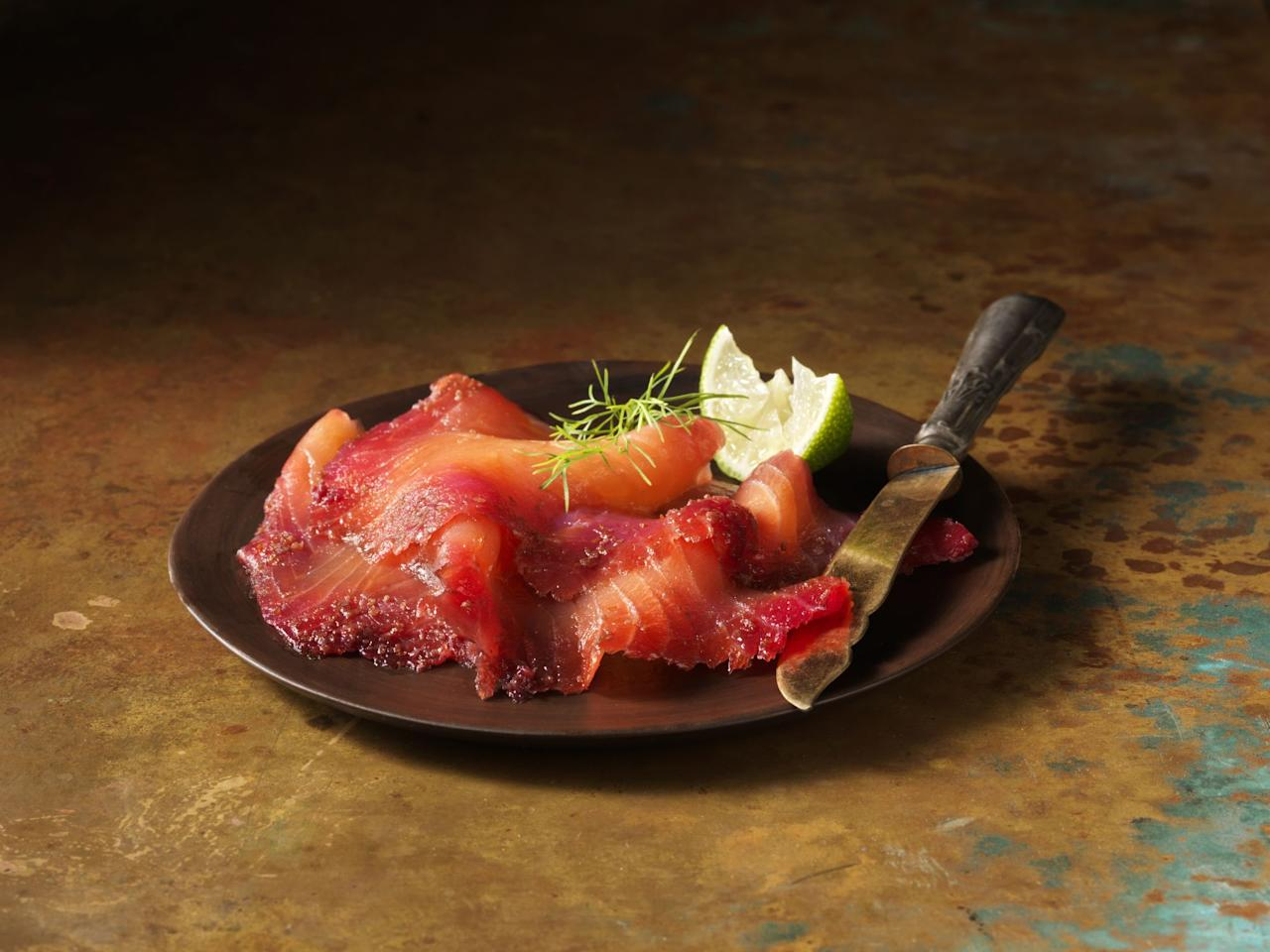 "<p>Once considered a luxury food, good quality smoked salmon is now available from a range of different retailers, from supermarkets to independent suppliers.</p><p>We've seen more and more flavoured options enter the market this year too, as smoked salmon is the perfect carrier for trendy flavours such as <a href=""https://www.goodhousekeeping.com/uk/food/a26896669/gin/"" target=""_blank"">gin and tonic</a> or single malt Scotch whisky. And these innovative alternatives can be used in plenty of <a href=""https://www.goodhousekeeping.com/uk/food/recipes/g544471/best-salmon-dishes/"">dishes</a> over the festive period.</p><p>Try serving on a <a href=""https://www.goodhousekeeping.com/uk/food/recipes/a565507/giant-salmon-blinis/"">blini</a> or toasted crumpet with some crème fraîche and dill for a quick and simple canapé - don't forget to serve with some <a href=""https://www.goodhousekeeping.com/uk/food/food-reviews/g23926133/best-champagne-christmas/"">champagne</a>! Alternatively, mix your salmon into a creamy <a href=""https://www.goodhousekeeping.com/uk/food/recipes/a535019/warm-salmon-and-potato-salad/"">potato salad</a> or <a href=""https://www.goodhousekeeping.com/uk/food/recipes/a552162/salmon-and-prawn-linguine/"">pasta dish</a>. For your Christmas breakfast, classic <a href=""https://www.goodhousekeeping.com/uk/food/a531999/how-to-make-scrambled-eggs/"">scrambled eggs</a> can be elevated with some torn <a href=""https://www.goodhousekeeping.com/uk/food/food-reviews/g23888822/best-smoked-salmon-christmas/"">smoked salmon</a> over the top, or you can serve it as a simple starter before the <a href=""https://www.goodhousekeeping.com/uk/food/food-reviews/g23867629/the-best-roast-turkey-for-your-christmas-dinner/"">turkey</a>.  </p><p>In our taste tests, our panel nibbled on everything from colourful beetroot-dyed slices to salmon infused with gin to find the most eye-catching and delicious options to serve this Christmas. But which brand has the winning salmon? Read our verdict below...</p><h2 class=""body-h2"">How we test</h2><p>Our consumer panel tried each smoked salmon and assessed them on appearance, aroma, flavour and texture. We were looking for a well-integrated, innovative flavour that enhanced the overall taste of the smoked salmon.<strong></strong><br></p>"