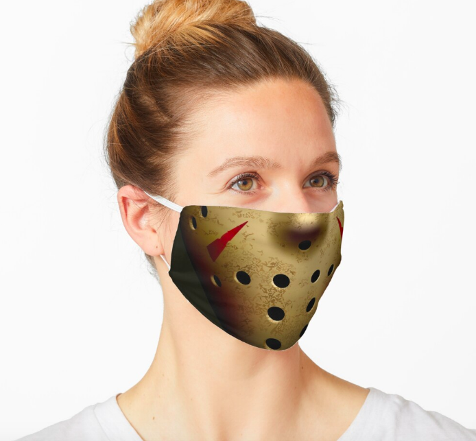 jason face mask cloth