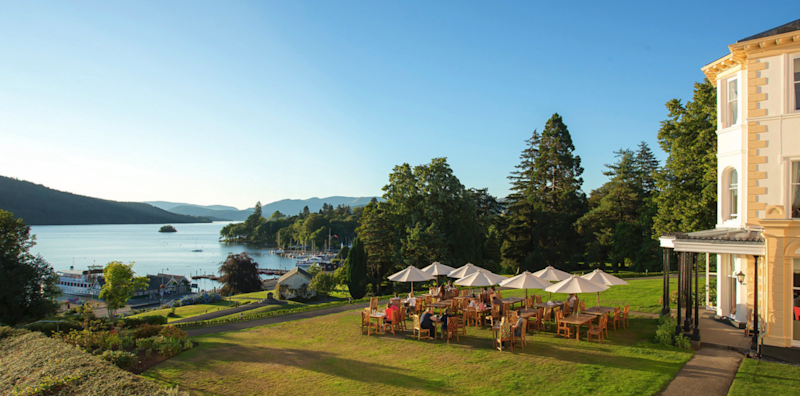 The Belsfield enjoys a prime location on Lake Windermere