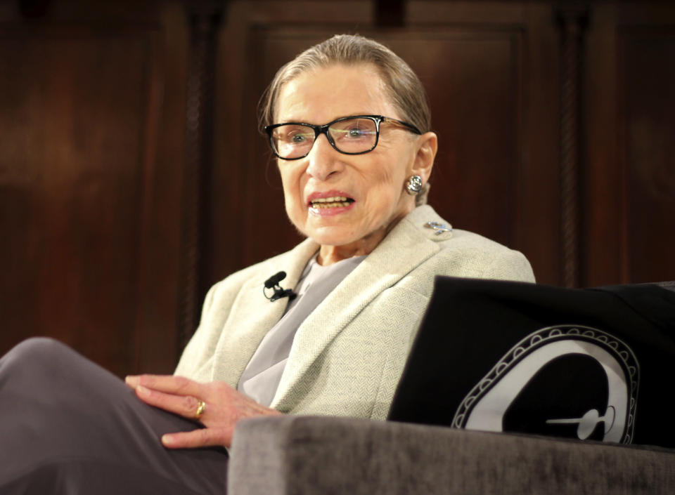 Ruth Bader Ginsburg is still a Judge in the US Supreme Court aged 85. (AP)