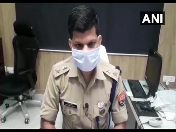 Moradabad SSP Prabhakar Choudhary speaking to reporters. [Photo/ANI]