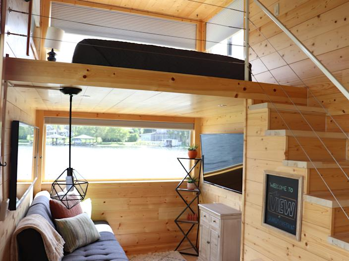 storage in tiny houses orlando lakefront