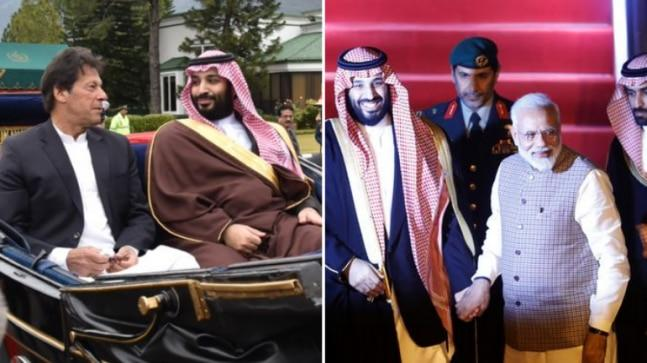 Mohammed bin Salman's visits to India and Pakistan, whose ties have plummeted since last week's deadly terrorist attack in Pulwama, are part of a larger tour of the region -- he is also due to visit China, Malaysia and Indonesia.
