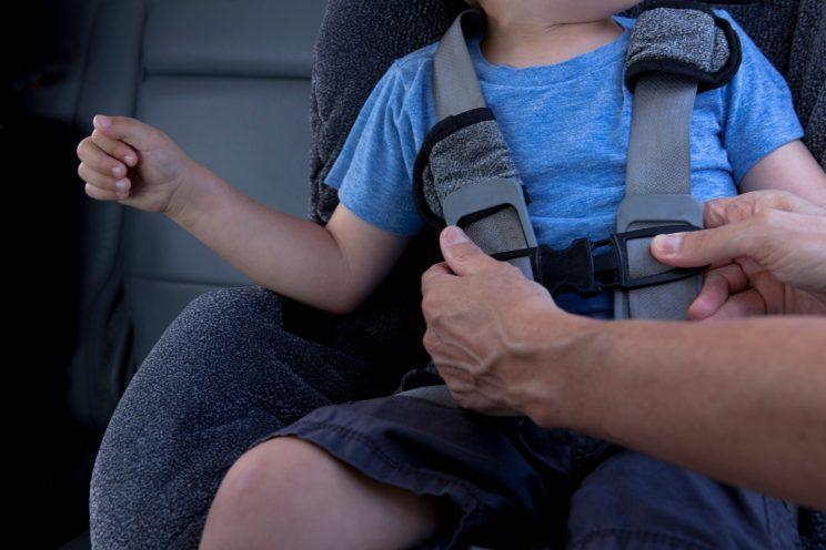 Sam Faiers has been parent-shamed about car seat safety but does it raise a wider issue about car seat confusion? [Photo: Getty]